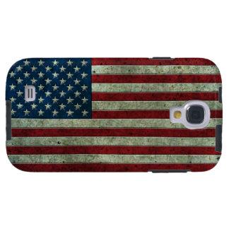 Efecto de acero envejecido de la bandera americana