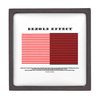 Efecto de Bezold (ilusión óptica) Caja De Regalo De Calidad