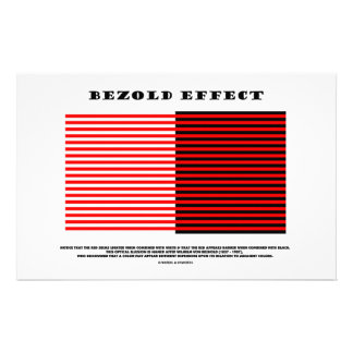 Efecto de Bezold (ilusión óptica) Papeleria