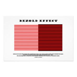 Efecto de Bezold (ilusión óptica) Papeleria De Diseño
