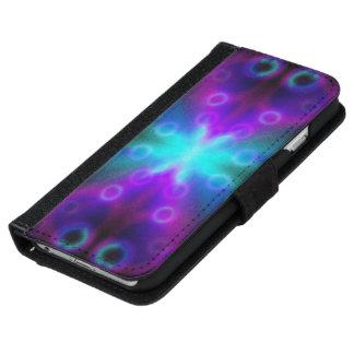 Efecto de Bokeh de las burbujas del iPhone 6 de la Funda Cartera Para iPhone 6
