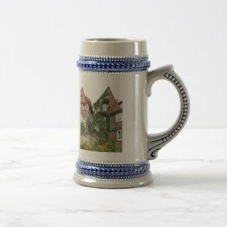 efecto de casa verde jarra de cerveza