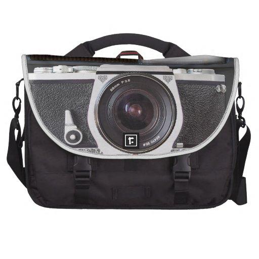 Efecto de la cámara de SLR sobre bolso del viajero Bolsas Para Portátil