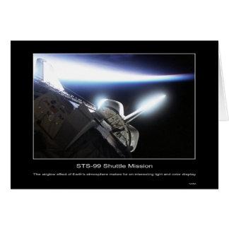 Efecto de la luminosidad nocturna atmosférica en l tarjeton
