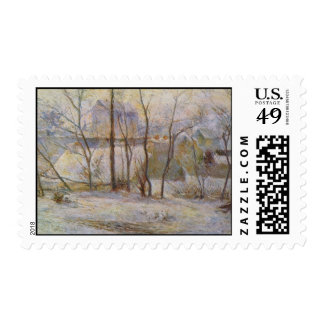 Efecto de la nieve - 1879 sello