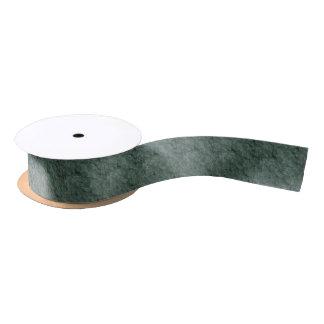 Efecto de piedra texturizado de color verde oscuro lazo de raso