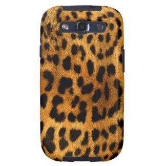 efecto de piel fresco del leopardo samsung galaxy s3 cárcasas