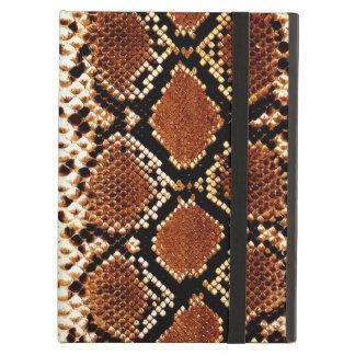 Efecto de piel negro de serpiente de Brown