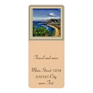Efecto de Tenerife 12 Invitación 10,1 X 23,5 Cm