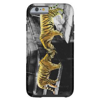 Efecto del color de dos tigres