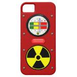 Efecto del contador de Geiger de la radiación iPhone 5 Carcasas
