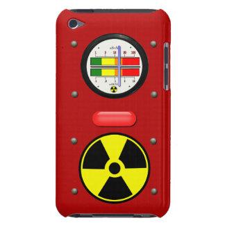 Efecto del contador de Geiger de la radiación Barely There iPod Protectores