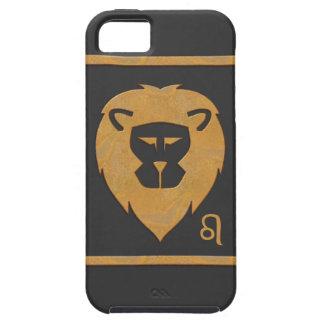 Efecto del mármol de la cabeza del león del iPhone 5 cobertura