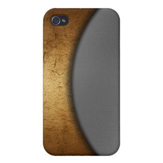 Efecto del metal iPhone 4 fundas