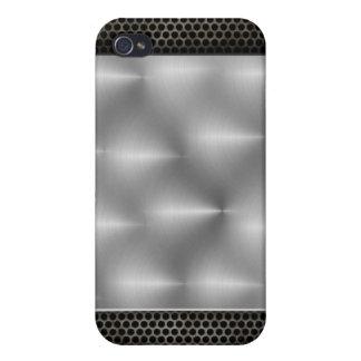 Efecto del metal iPhone 4/4S carcasa
