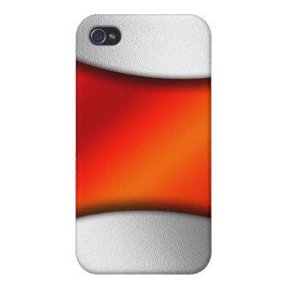 Efecto del metal iPhone 4 protector