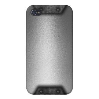 Efecto del metal iPhone 4/4S carcasas