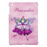 Efecto impreso hada rosada linda de la joya del ci iPad mini cobertura