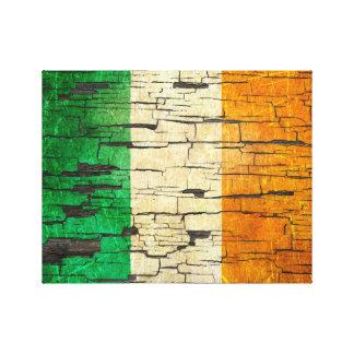 Efecto irlandés agrietado de la pintura de la lona estirada galerias