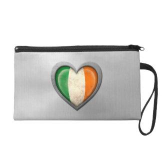 Efecto irlandés del acero inoxidable de la bandera