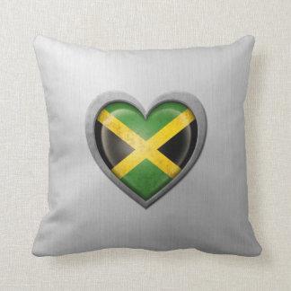 Efecto jamaicano del acero inoxidable de la bander almohada