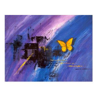 Efecto mariposa postal