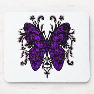 Efecto mariposa (púrpura) alfombrilla de raton