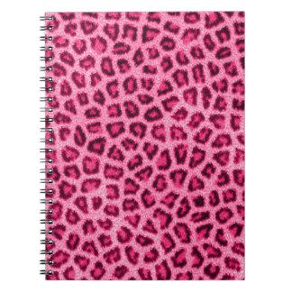 Efecto mullido de la piel de la piel de moda del l notebook