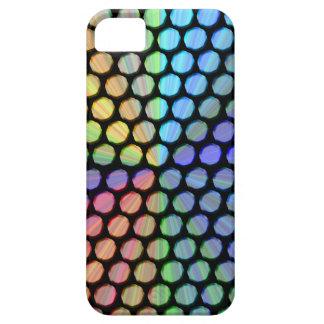 Efecto multicolor de la prisma funda para iPhone 5 barely there