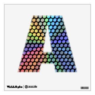 Efecto multicolor de la prisma vinilo adhesivo