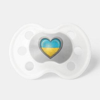Efecto ucraniano del acero inoxidable de la bander chupetes de bebé