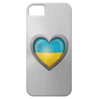Efecto ucraniano del acero inoxidable de la bander iPhone 5 cárcasa