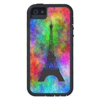 Efectos coloridos de la parte posterior del paño iPhone 5 carcasa