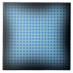 Efectos cuadrados azules tejas  cerámicas