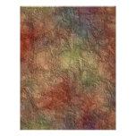 Efectos de escritorio abstractos del papel con plantillas de membrete