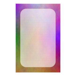 """""""Efectos de escritorio alineados finos de la luz Papelería Personalizada"""
