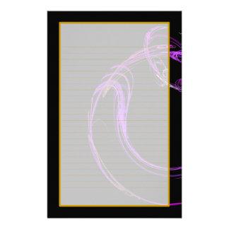 Efectos de escritorio alineados multa cósmica del  papeleria