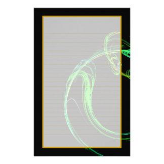 Efectos de escritorio alineados multa cósmica del papelería