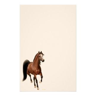 Efectos de escritorio árabes del caballo de la bah papelería
