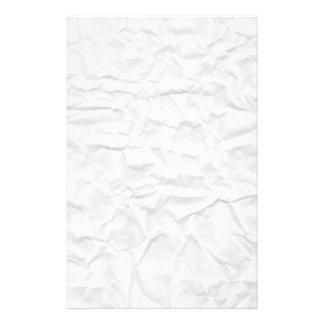 Efectos de escritorio arrugados del personalizado  papeleria