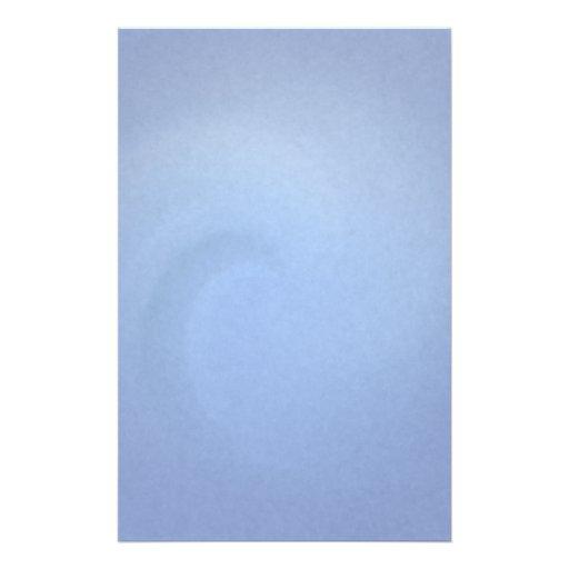 Efectos de escritorio azules claros de la onda papeleria personalizada