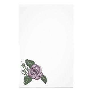 Efectos de escritorio color de rosa de color de  papeleria de diseño