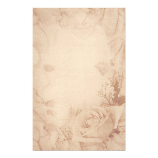 Efectos de escritorio color de rosa románticos del papeleria