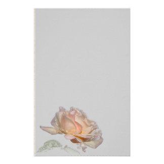 Efectos de escritorio color de rosa rosados papelería personalizada