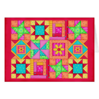 Efectos de escritorio coloridos del arte del tarjetón