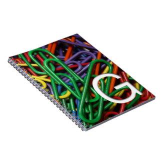 Efectos de escritorio coloridos del efecto inicial cuadernos