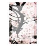 Efectos de escritorio corregidos flor de cerezo papeleria personalizada