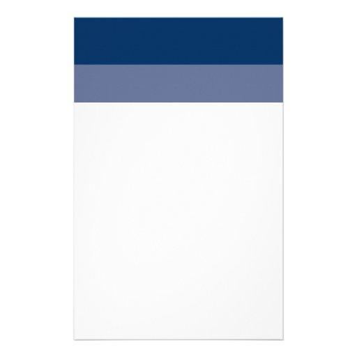 Efectos de escritorio de 2 azules papeleria