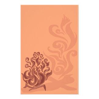 Efectos de escritorio de cobre encantadores de la personalized stationery