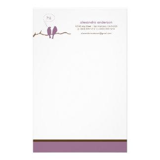Efectos de escritorio de encargo del diseñador de  papelería de diseño
